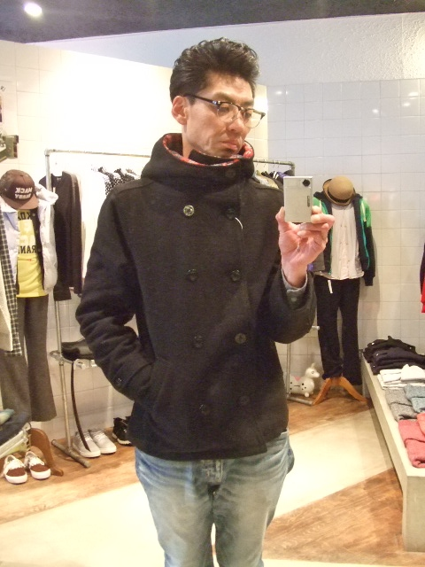 rehacer Fast hooded P-coat ST
