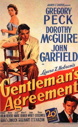 Gentlemans Agreement Poster