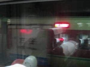 方谷駅すれ違い