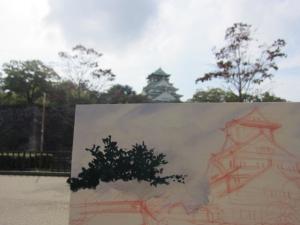 樹木を描く