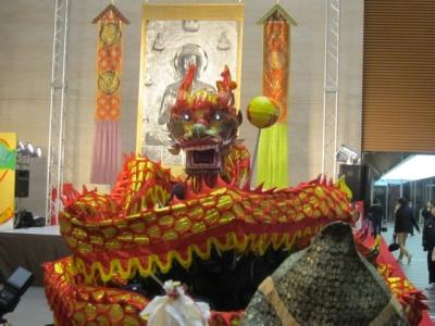 堂島薬師堂に祀られている龍