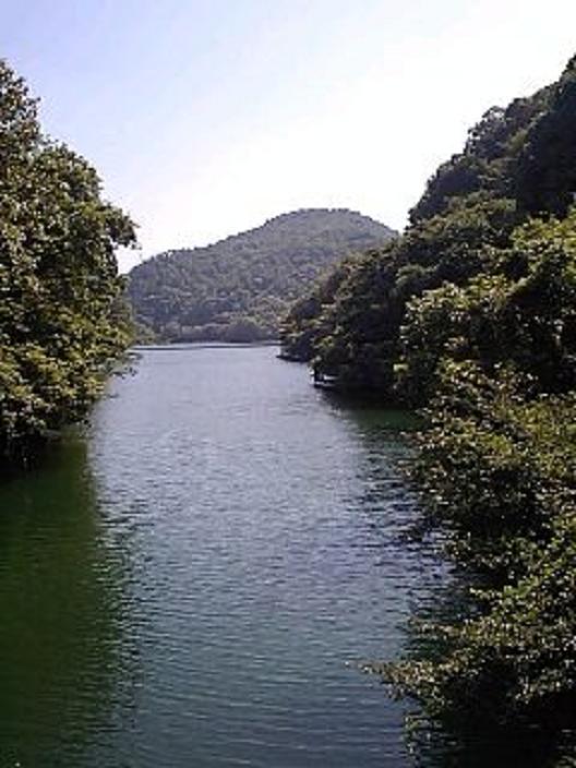 喜撰山ダム湖