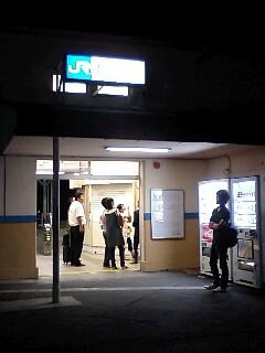 3ある日の無人駅