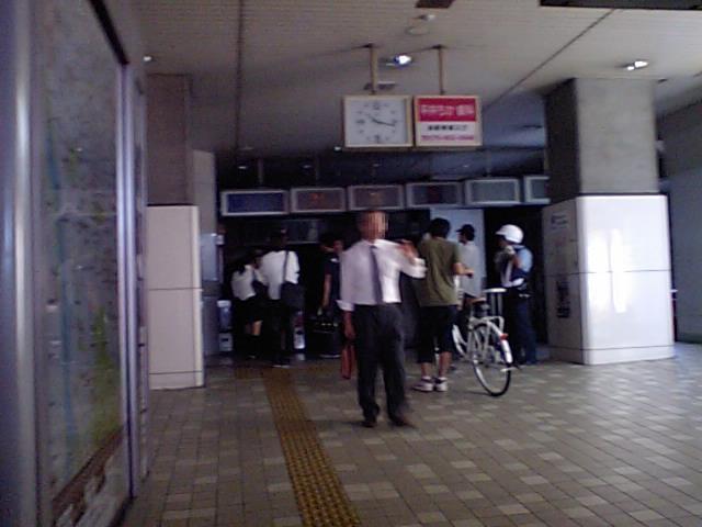 1ある日の無人駅
