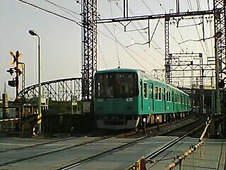 10000 with 澱川トラス橋 観月橋