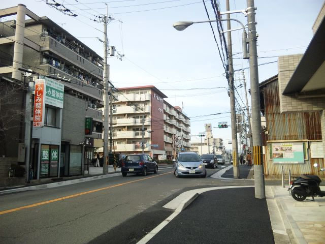 京都市電稲荷線遺構③ 11.02.19 E