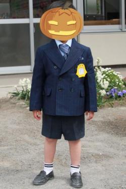 入園用 スーツ