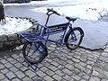 前スタンドの自転車