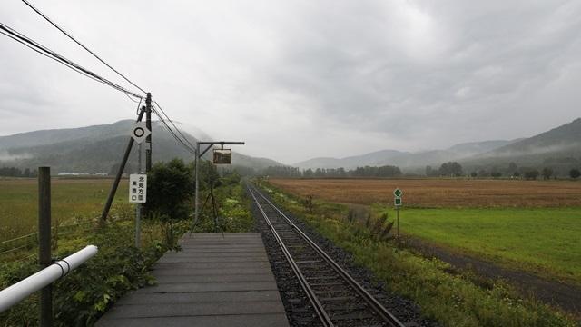 生野駅のホーム