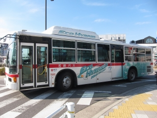 名鉄バス ハイブリッドバス