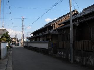 あま市七宝町伊福弐之割の火の見櫓