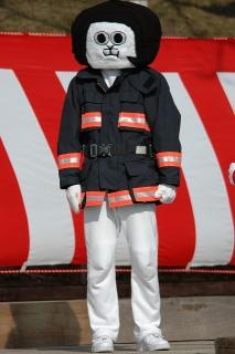平成26年 岡崎市消防出初式 オカザえもん