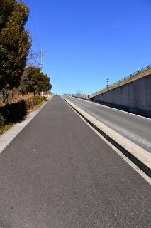 国道302号と名二環の側道