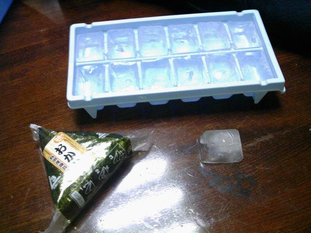 氷の柱・箱