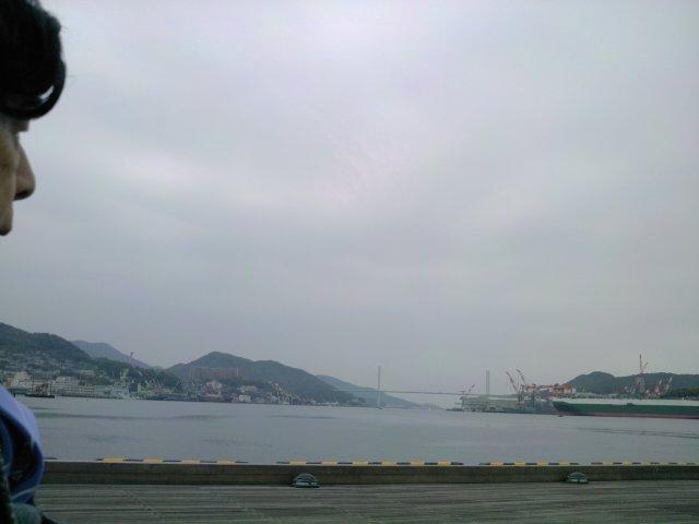 埠頭の風景