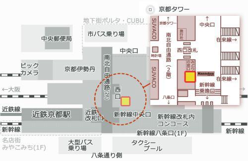 マネケン地図
