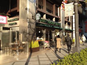 スターバックス京都タワー店1