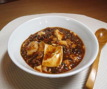 お願いレシピ#4本格麻婆豆腐
