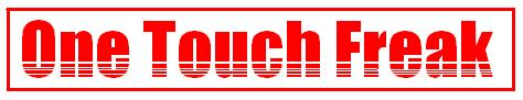 one touch freak LOGO 2011