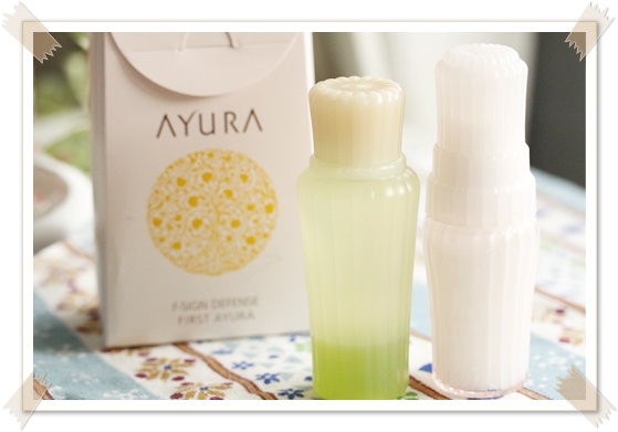 ファーストアユーラ アユーラ ニキビ肌・敏感肌用2瞬間トライアル 化粧液&入浴剤