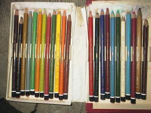 パステル鉛筆
