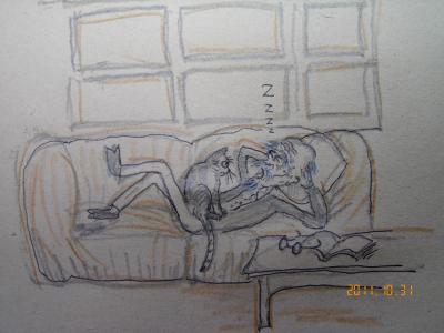 昼寝の監視