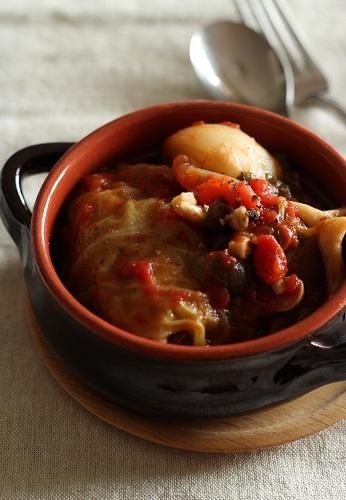 ロールキャベツのトマト煮1