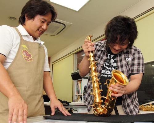 管楽器リペアスクール1