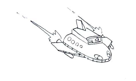 宇宙船001
