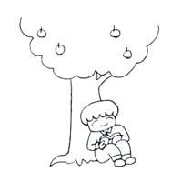 りんごの木001
