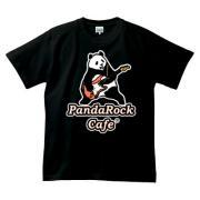 パンダロックカフェ 半袖Tシャツダークカラー