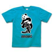 パンダレーシングクラブ2 半袖Tシャツディープカラー