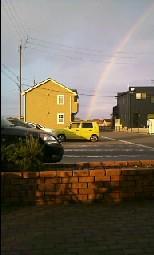 虹を出しまーす