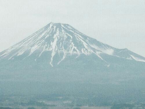 2014年1月25日の富士山