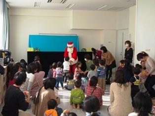 2013.11.26 サンタさん登場!