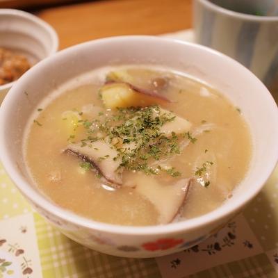 甘酒サツマイモスープ