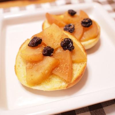 アップルシナモントースト