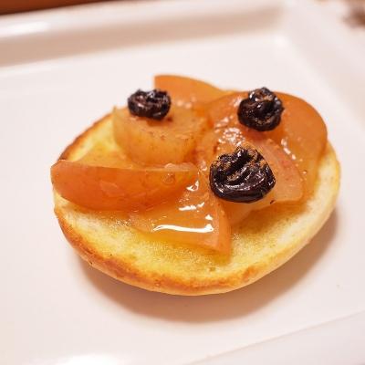 アップルシナモントースト蜜掛け