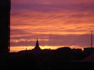 sunset 23h à stockholm