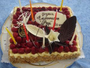gateau de anniversaire papy 80 ans