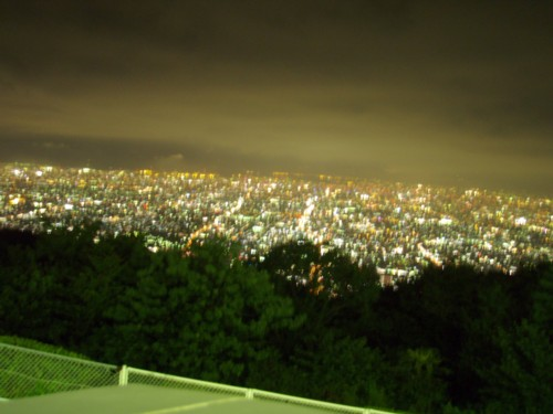 生駒山 夜景