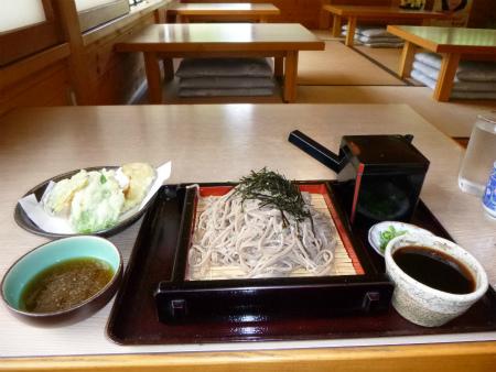 そば&野菜の天ぷら