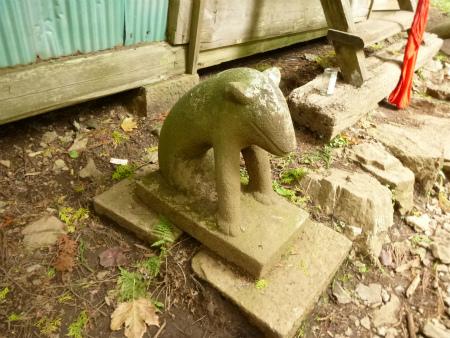 035大岳神社狛犬