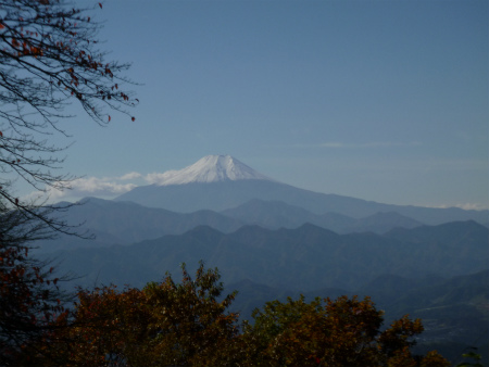 060三国山から富士山