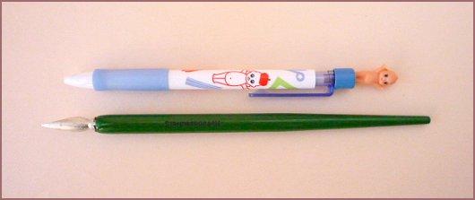 QP ボールペン+枠
