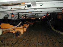 ヴィクトリー砲甲板