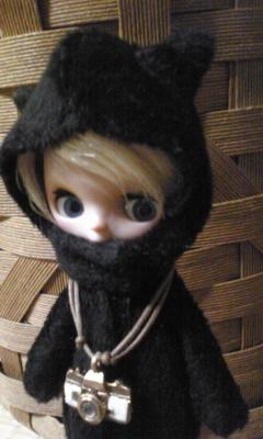 黒猫 気ぐるみ プチブライス