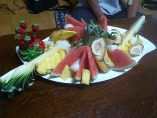 フルーツ盛り合せ