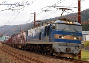 4076レ(=EF510-501牽引)