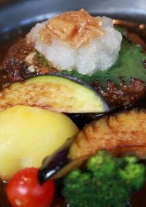 伊賀牛のおろしポン酢ハンバーグ